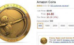 Amazonコイン登場!500コイン無料で配布