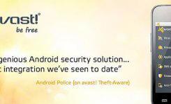 高機能の無料ウイルス対策アプリ『アバスト!』(avast! Mobile Security)