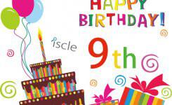 本日でiscleが9歳になりました!