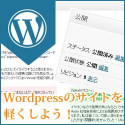リビジョンを削除して WordPress のデータベースを軽く