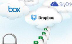 Googleドライブ・Dropboxのファイルにパスワード付け暗号化する方法