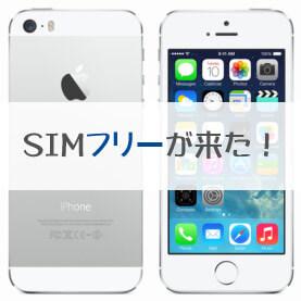 simフリーiphone 5s