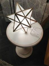 星形のランプ