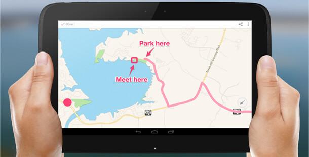矢印や枠線を追加できるアプリ「skitch」