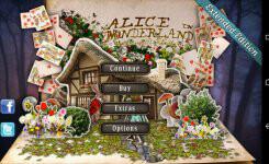 アリスの世界をゲームやパズルで解き進むアプリ『Alice in Wonderland HD』