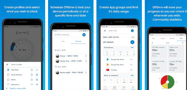 特定の時間、特定の人やグループだけ電話やメールを許可するアプリ『Offtime』