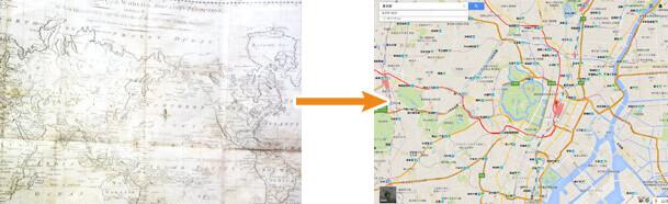 地図からGoogleマップへ