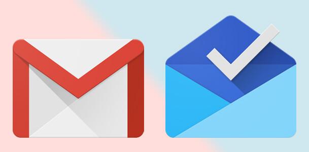 gmailからInboxへ転送される