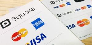 クレジットカードの卓上ポップ