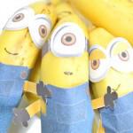 バナナをミニオンズに変身させる工作キットを作ってみた