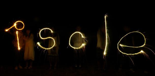花火・ペンライトで文字を書いて撮影