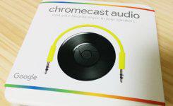 Chromecast Audioで音楽をスマホからスピーカーへ飛ばす!