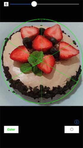 ケーキを7等分