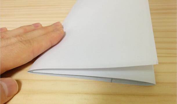 A4も手紙も三つ折りを綺麗&簡単にする方法【図解】