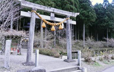 根道神社のモネの池