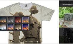 1枚でもOK!写真を全面プリントしてオリジナルTシャツが作れる『BLANK』