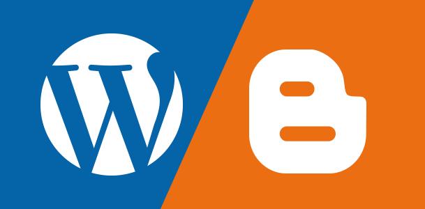 WordPressとBloggerを比較