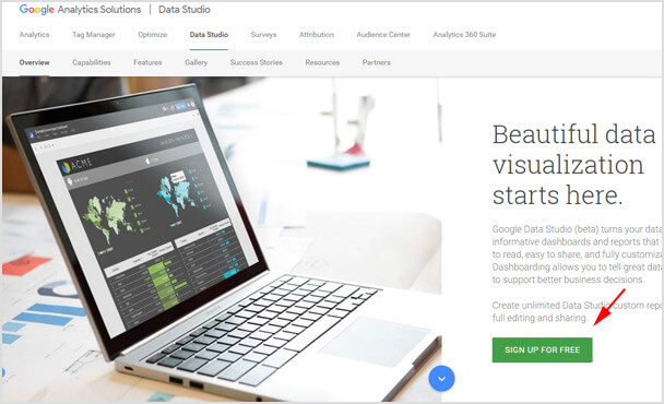 Google データスタジオ