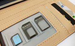 財布にも入るSIMカードケース&アダプターがお勧め!
