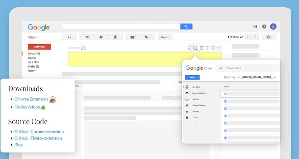 Gmailのメールにメモを付ける