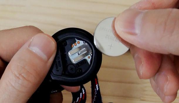 電池の向き
