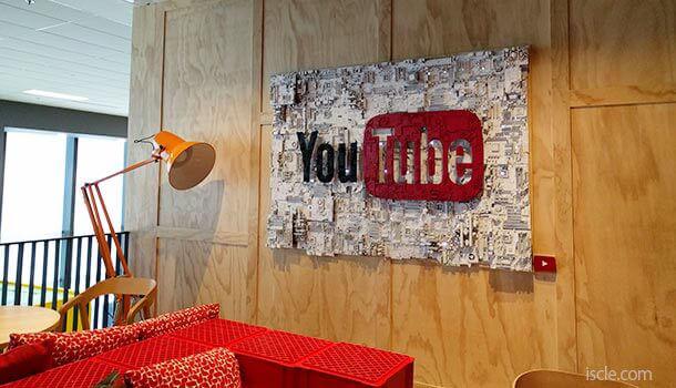 オフィスツアーで YouTube