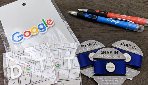Googleグッズの小物類