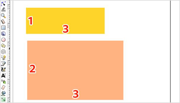 整数比に固定した長方形を描く
