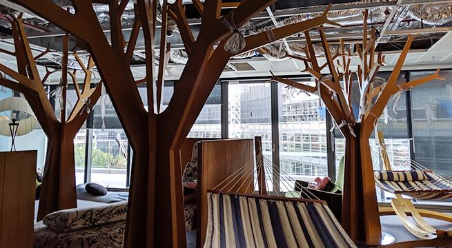 Google シドニーオフィスの仮眠室